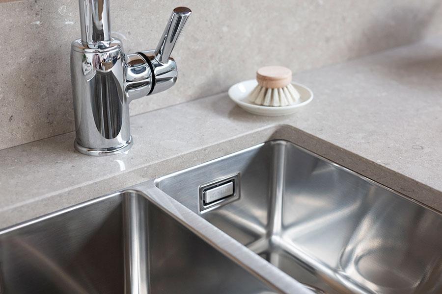 lagom 34 18 modern kitchen sink with 1