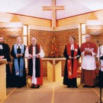 picture of ministers at Dedication Service 1993