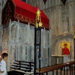 The shrine of St Alban
