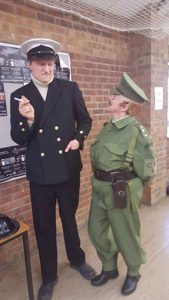 Dad's Army - Backstage