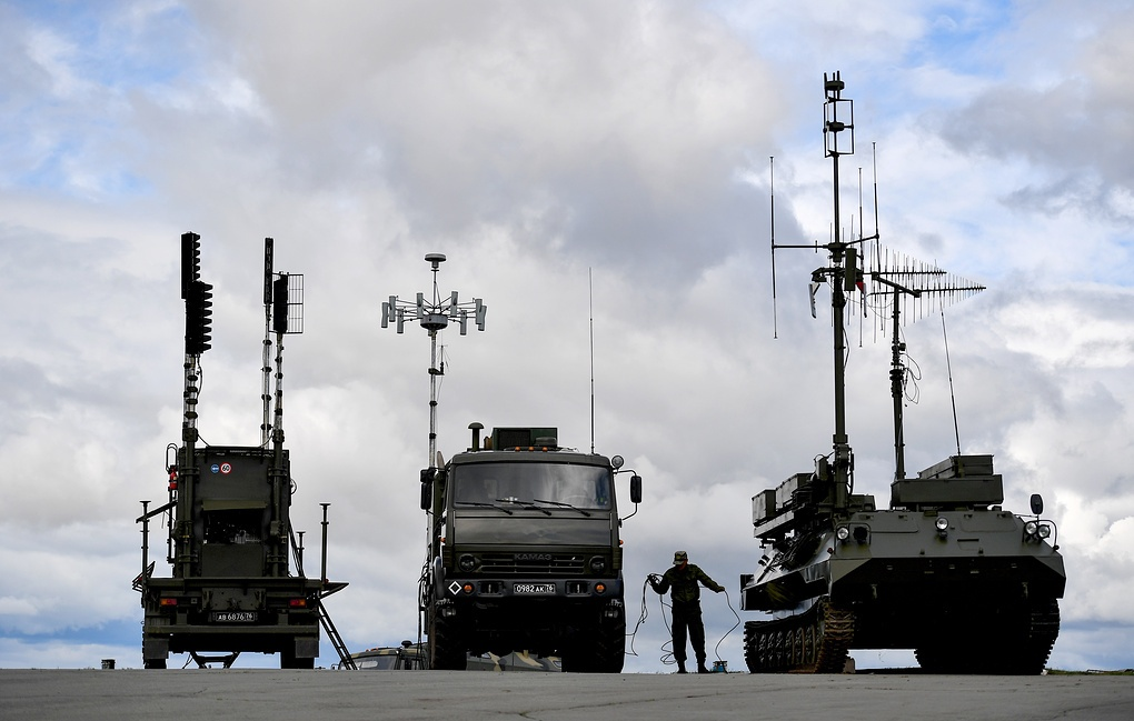 Russia Will Deploy Electronic Warfare Systems in Syria to Counter ...
