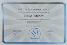 Certificaat Ruitervoorkeuren van Linda Perdon