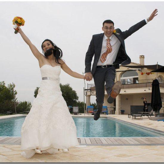 Photographe de mariages Avignon Toulon St Tropez côte d'azur