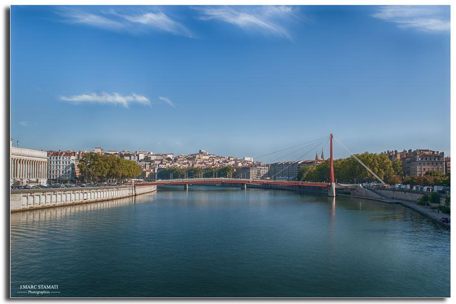 Lyon la Saône, photographe j.marc Stamati