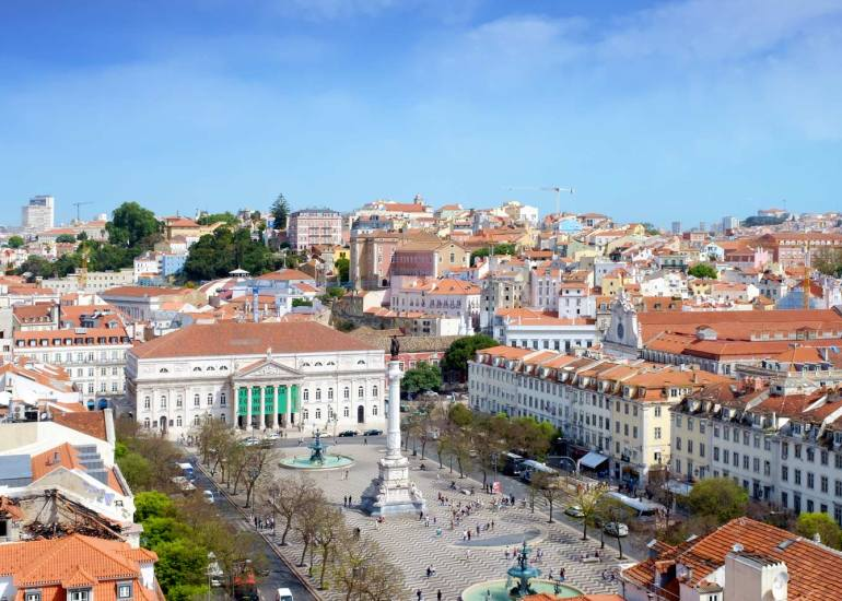 Lisbonne ville en couleur