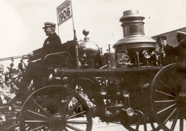 Amoskeag Steam Fire Engine in Stamford Parade