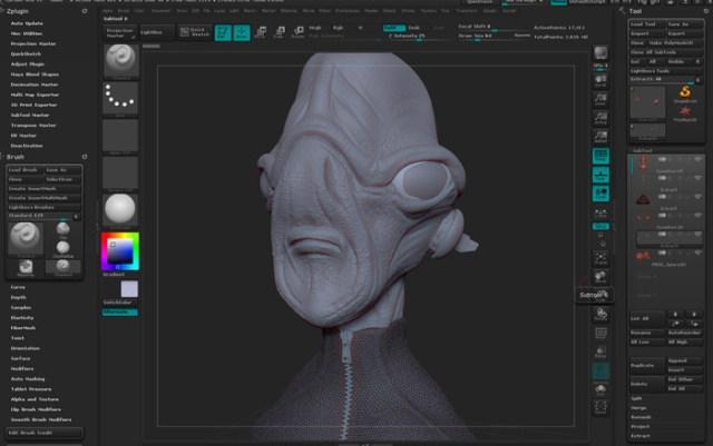 zbrush modellazione 3D