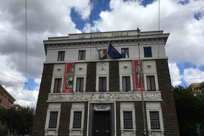 Museo dei Carabinieri, la facciata