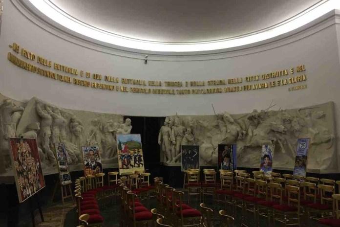 Il Salone d'Onore del Museo dei Carabinieri