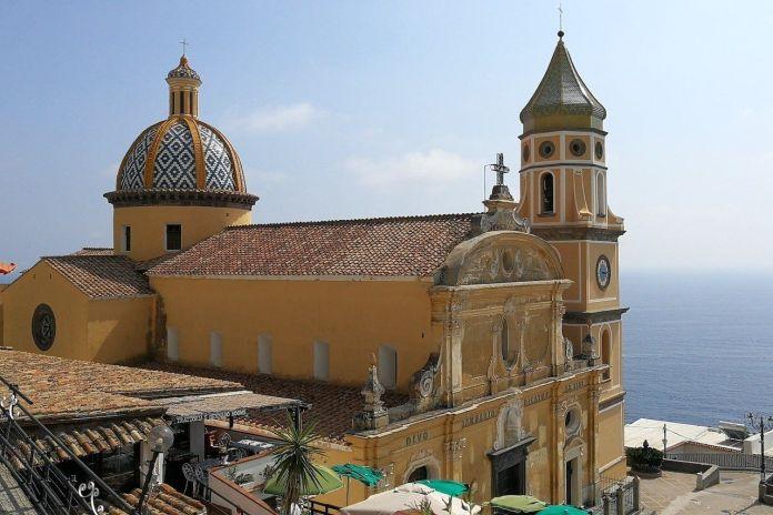 la chiesa di San Gennaro a Praiano