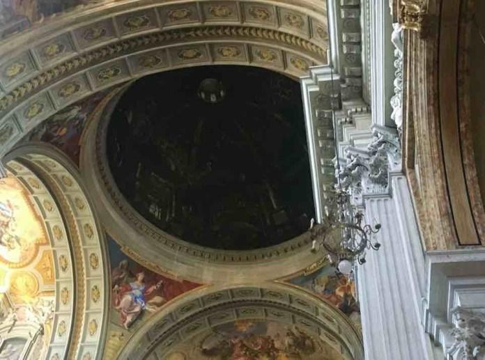 Chiesa Sant'Ignazio di Loyola: la falsa cupola