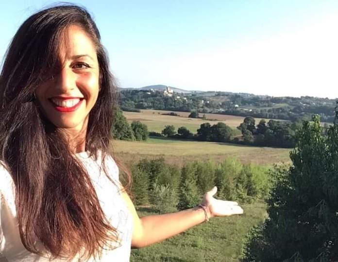 Virginia Succhiarelli mostra la tenuta in Umbria, in zona Amelia