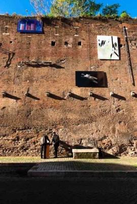 Roma, scatto sulle Mura Aureliane