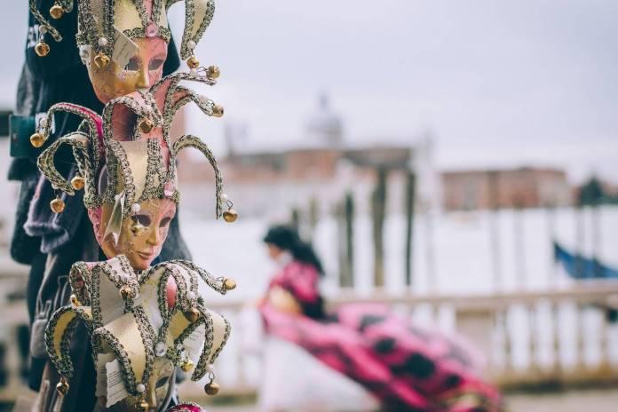 Maschere di Carnevale a Venezia