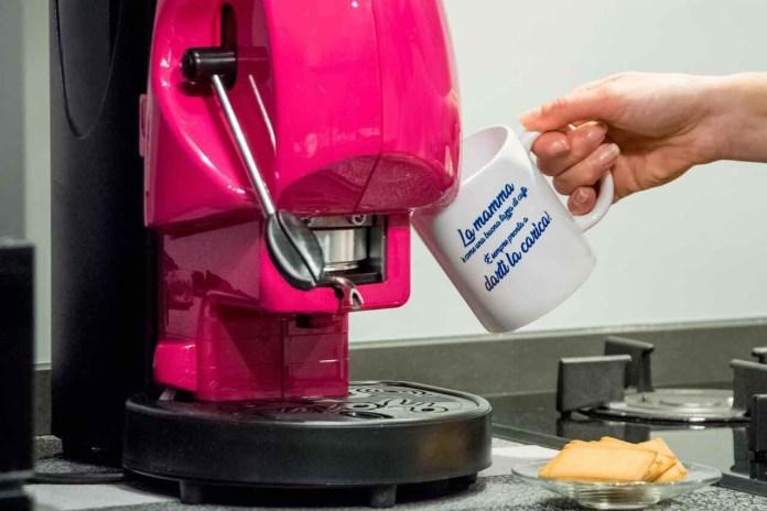 Didiesse, macchina del caffè con tazza per la festa della mamma