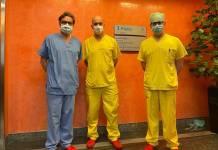 Tiroide ectopica, l'equipe medica del Salus Hospital