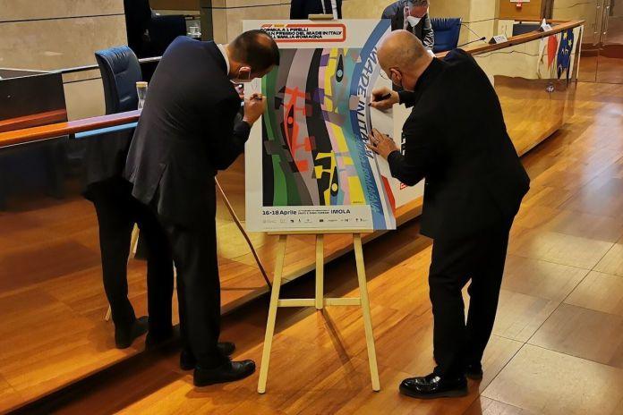 GP del Made in Italy, firma del manifesto della gara di Imola