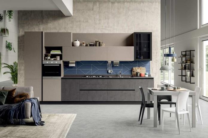 Stosa Cucine, la linea Art con modello Kaya