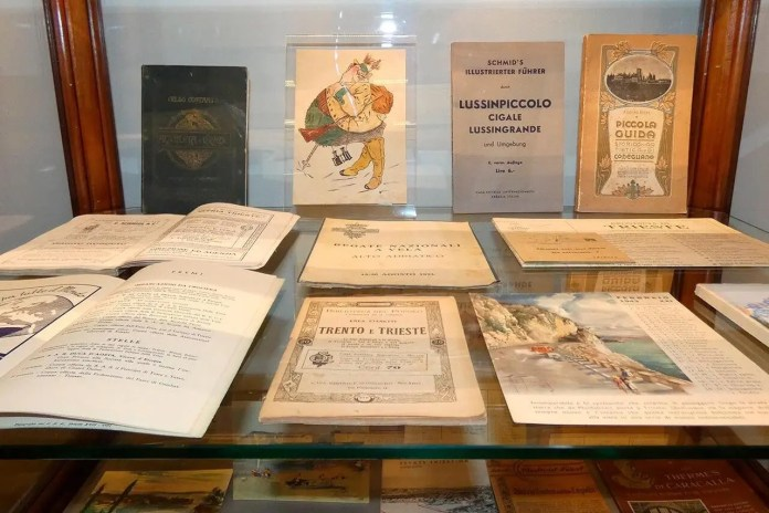 Euphemia, alcuni oggetti al museo diffuso del turismo di Trieste
