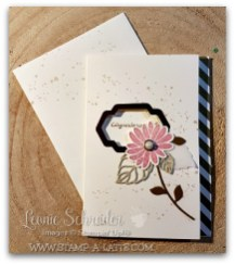 Congrats with Sweet Sugarplum Flower