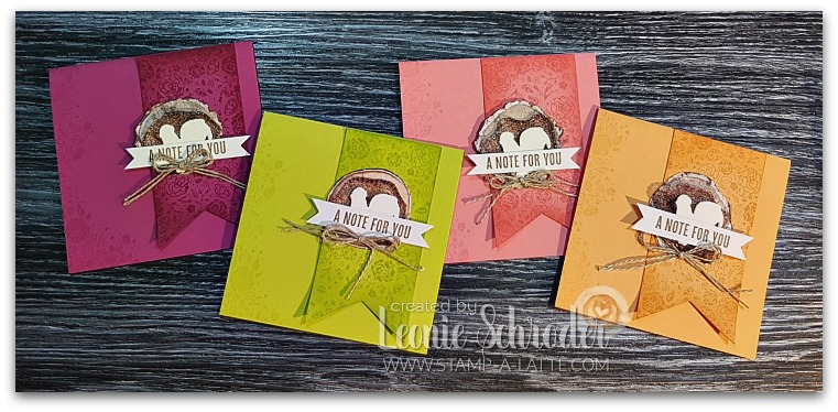 Wood Words Cards by Leonie Schroder Independent Stampin' Up! Demonstrator Australia