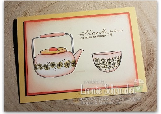 Just Add Color Card by Leonie Schroder Independent Stampin' Up! Demonstrator Sydney Australia