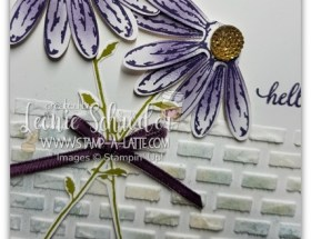 Daisy Delight Wall by Leonie Schroder Independent Stampin' Up! Demonstrator Australia