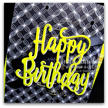 Happy Birthday with Twist by Leonie Schroder Independent Stampin' Up! Demonstrator Austrlalia