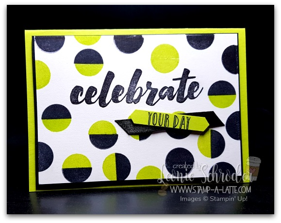 It's a Dotty Celebration for the guys by Leonie Schroder Independent Stampin' Up! Demonstrator Australia