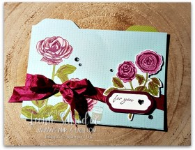 Petal Garden Pocket File card by Leonie Schroder Independent Stampin' Up! Demonstrator Australia