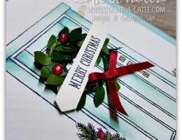 At Home with You for Christmas by Leonie Schroder Independent Stampin' Up! Demonstrator Australia