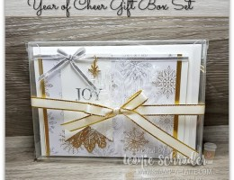 Year of Cheer Gift Box Set by Leonie Schroder Independent Stampin Up Demonstrator Australia