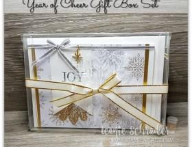 Year of Cheer Gift Box Set by Leonie Schroder Independent Stampin Up Demonstrator Australia