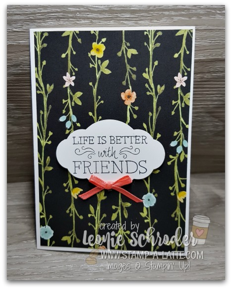 Lovely Friend by Leonie Scrhoder Independent Stampin Up Demonstrator Australia