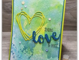 Ink Smooshing Technique by Leonie Schroder Independent Stampin' Up! Demonstrator Australia
