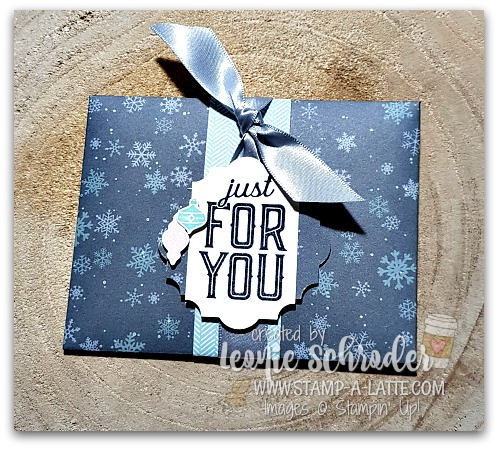 Gift Card Holder by Leonie Schroder Independent Stampin' Up! Demonstrator Australia