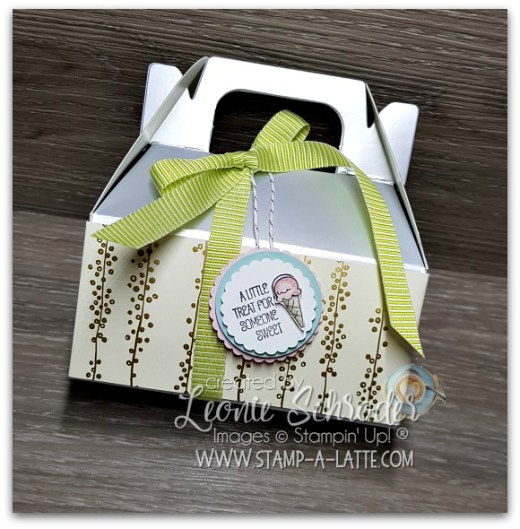 A Good Day Gable Box created by Leonie Schroder Indpenedent Stampin' Up! Demonstrator Australia