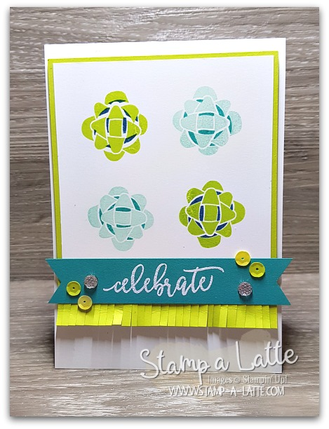 Picture Perfect Birthday Bow Card by Leonie Schroder Independent Stampin' Up! Demonstrator Australia
