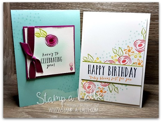 Perennial Duo by Leonie Schroder Independent Stampin' Up! Demonstrator Australia