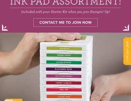 Free Family Ink Pads when you join in July