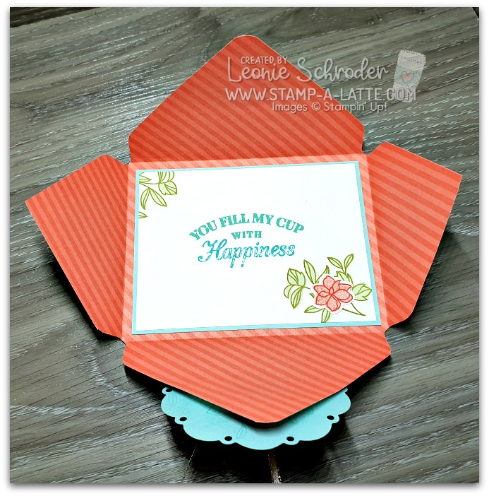 Tea Room Envelope Card by Leonie Schroder Independent Stampin' Up! Demonstrator Australia