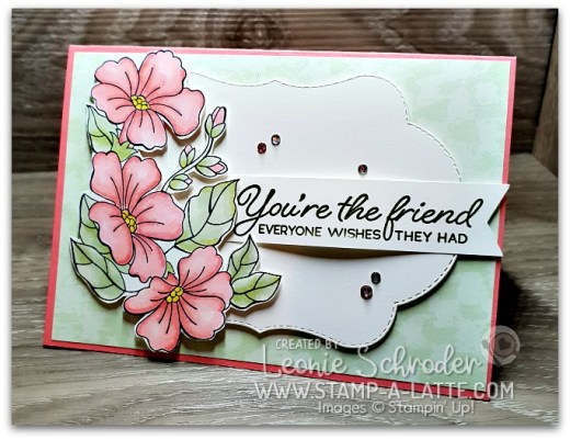 Blended FLowers using Colour Your Season by Leonie Schroder Independent Stampin' Up! Demonstrator Australia