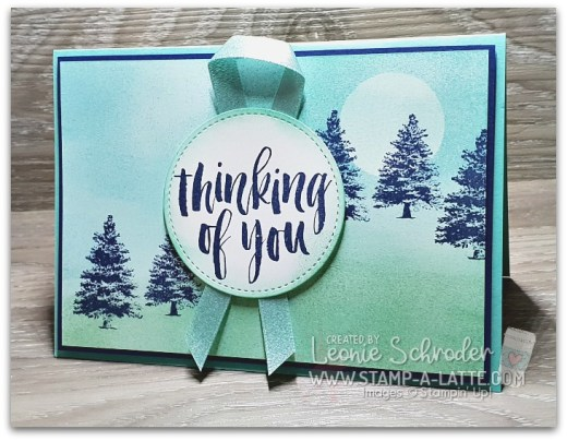 Sponged Rooted in Nature by Leonie Schroder Independent Stampin' Up! Demonstrator Australia