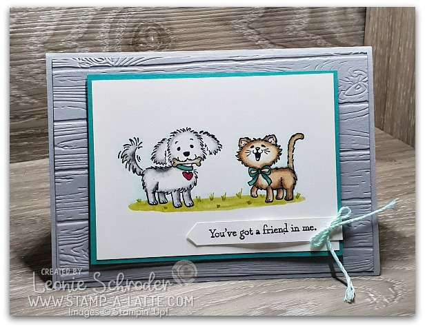 Blended Friends by Leonie Schroder Independent Stampin' Up! Demonstrator Australia