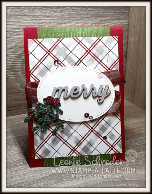Festive Embellishments by Leonie Schroder Independent Stampin' Up! Demonstrator Australia