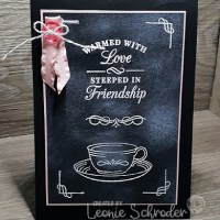Chalboard Time for Tea-ST2T by Leonie Schroder Independent Stampin' Up! Demonstrator Australia