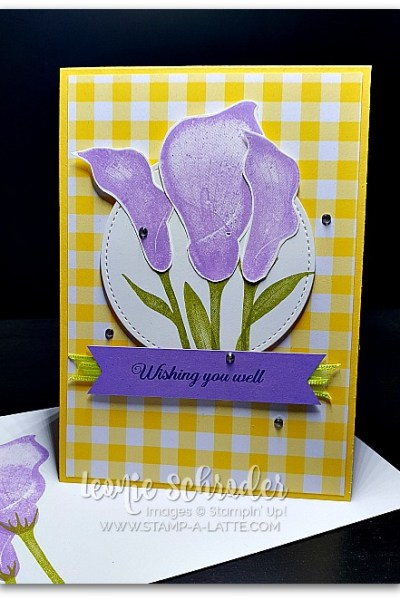 Lasting Lily by Leonie Schroder Independent Stampin' Up! Demonstrator Australia