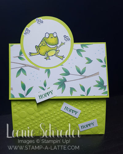 Hoppy Hoppy Birthday by Leonie Schroder Independent Stampin' Up! Demonstrator Australia