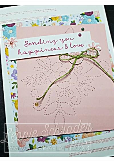 Needlepoint Nook by Leonie Schroder Independent Stampin' Up! Demonstrator Australia