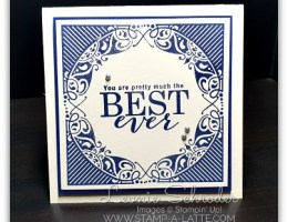 Best Ever using All Adorned by Leonie Schroder Independent Stampin' Up! Demonstrator Australia
